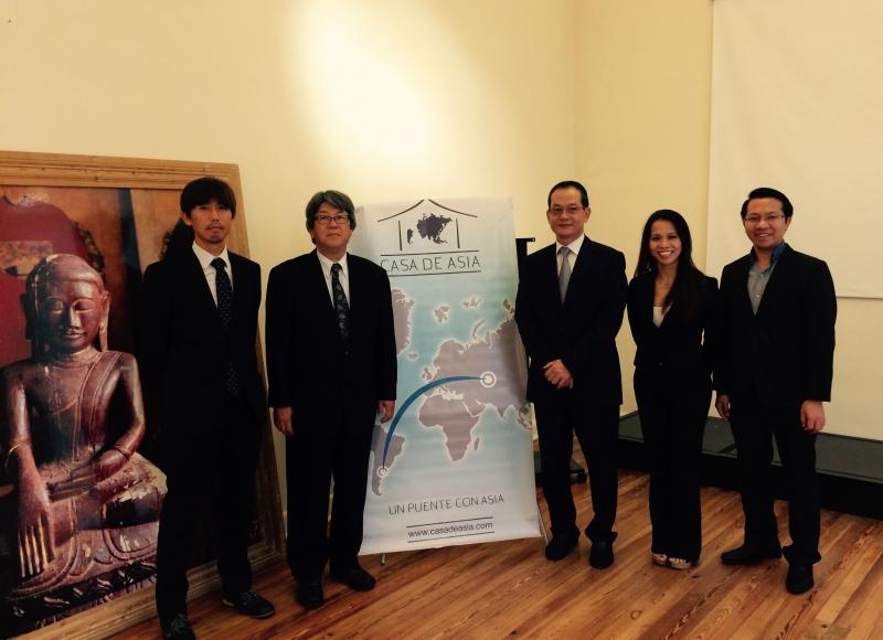 Japón y VN en Casa de Asia 2014