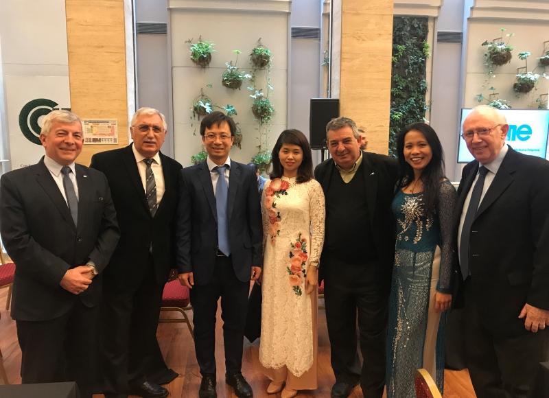 Delegación comercial de Vietnam- Ronda de Negocios entre empresarios Argentinos y vietnamitas en CAME julio de 2017