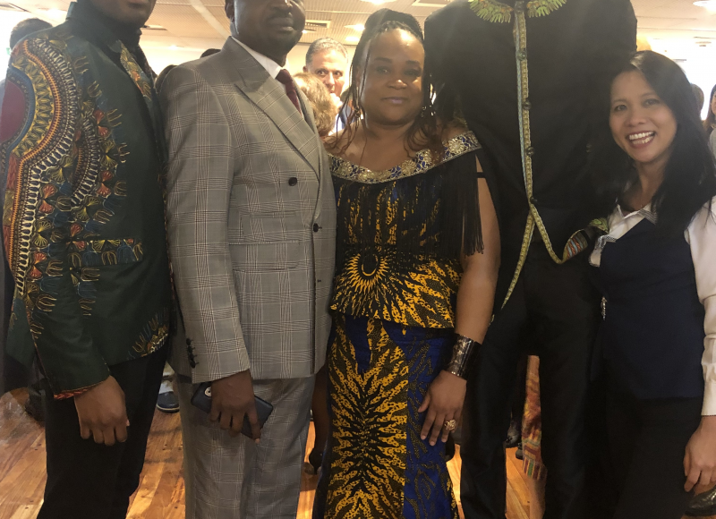 DIA DE AFRICA EN LA CANCILLERIA ARG.28-5-2019