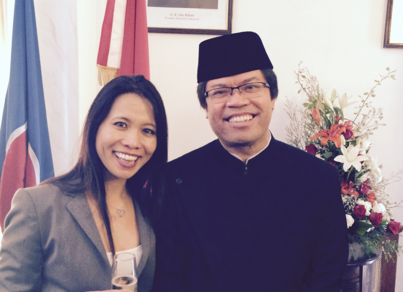 Emb. Indonesia Jonny Sinaga