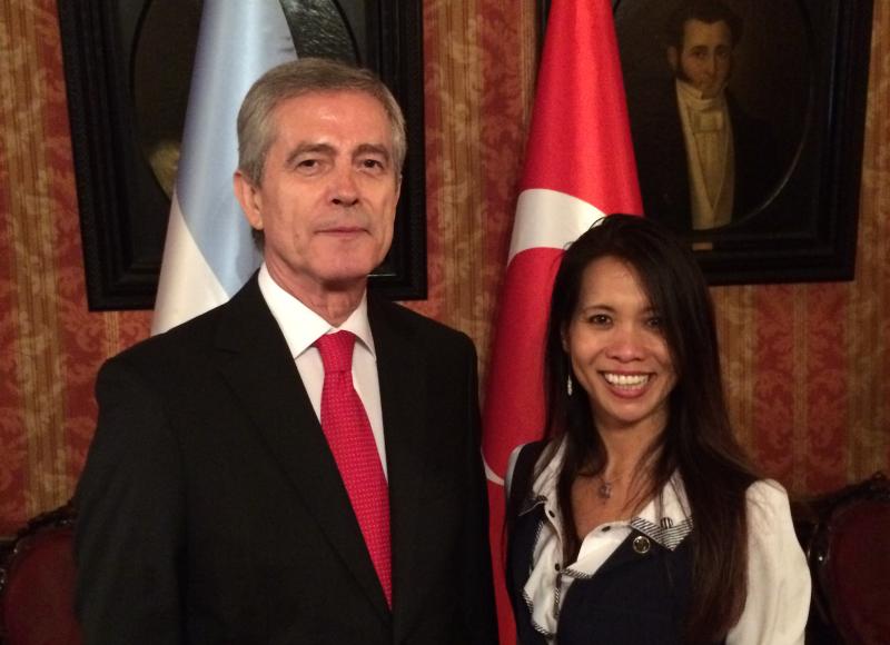 Embajador de Turquía, S.E. Taner Karakas-2017