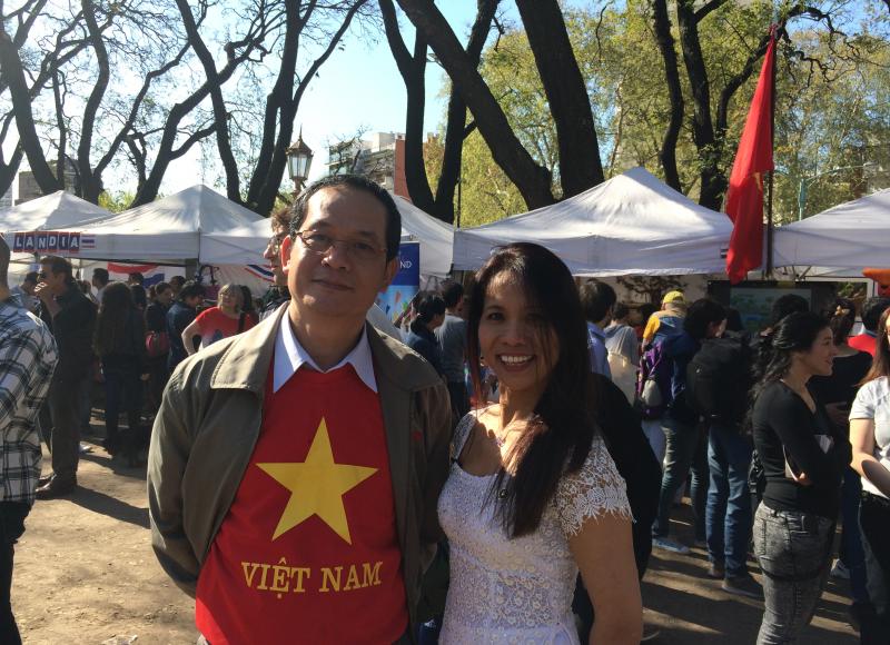 Embajdor de Vietnam Nguyen Dinh Thao